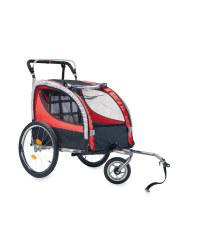2 In 1 Bike Trailer & Stroller