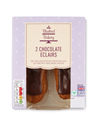 2 Pack Chocolate Eclairs
