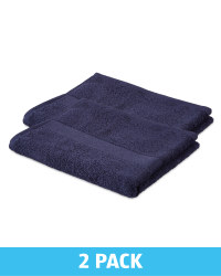 Kirkton House Hand Towels 2 Pack - Blue