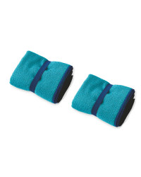 Crane 2 Pack Hand Towel - Peacock