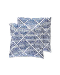 Diamond Dash Garden Cushion 2 Pack