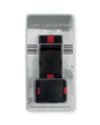 2-Way Luggage Strap - Red