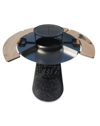 Gardenline 2 in 1 Grill and Fire Pit
