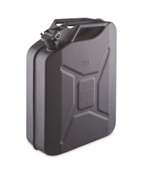20 Litre Metal Jerry Can - Black
