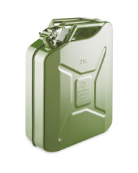 20 Litre Metal Jerry Can - Green