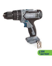 Ferrex 20V Cordless Combi Drill