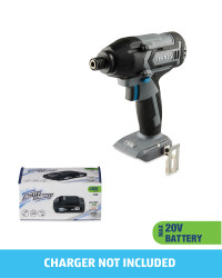 20V Impact Driver With 20V Battery