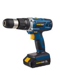 Workzone 20v Cordless Hammer Drill