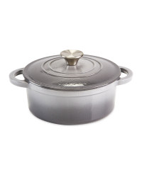 20cm Small Cast Iron Dish - Grey