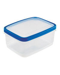 2L Rectangle Container - Blue