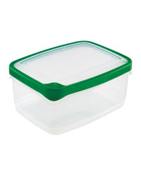 2L Rectangle Container - Green