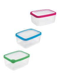 2L Rectangle Seal Tight Containers