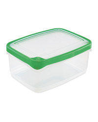 2L Rectangle Seal Tight Containers - Green