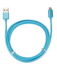 Boost 2m Lightning Cable - Aqua