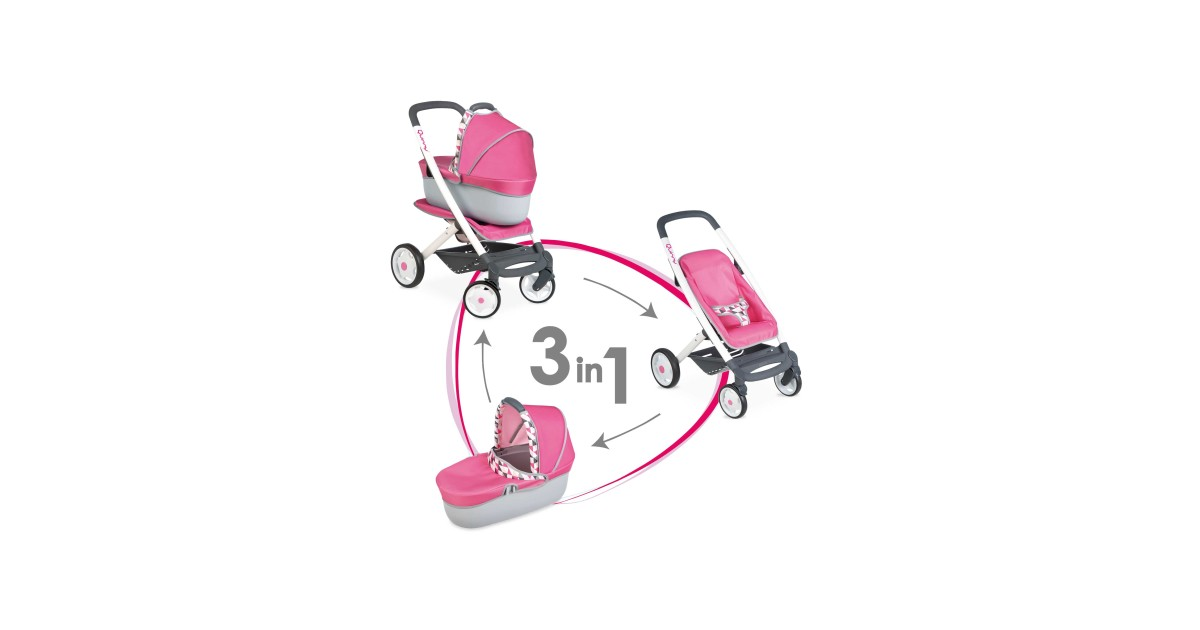 Quinny 3 In 1 Doll S Pram Carrycot