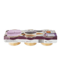 3 Pack Cheesecakes -Blackcurrant