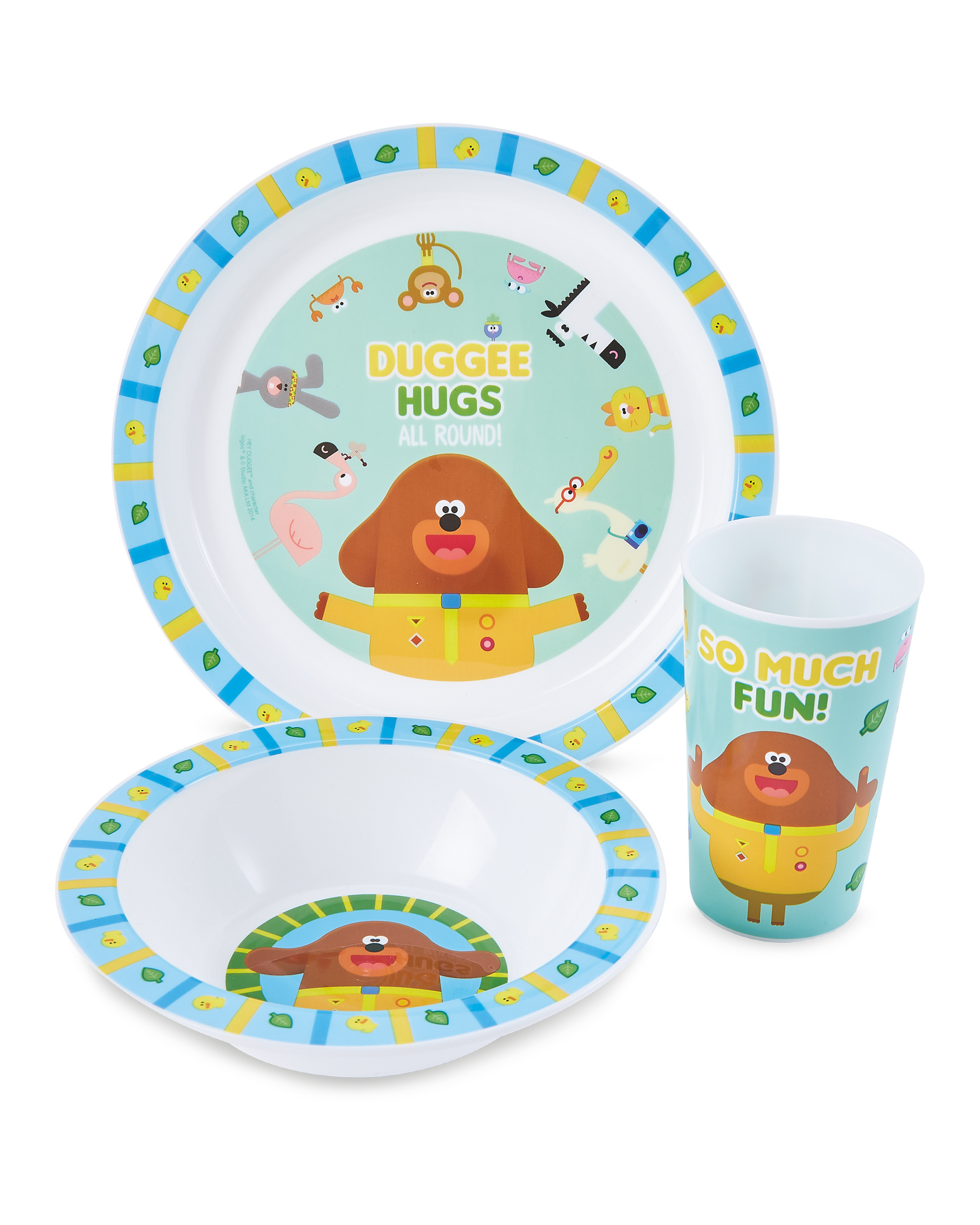 Hey Duggee 3 Piece Breakfast Set
