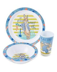 Peter Rabbit 3 Piece Breakfast Set