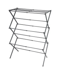 3 Tier Expanding Clothes Airer - Charcoal