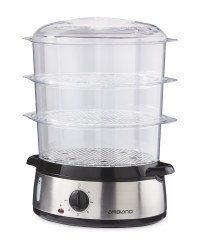 Ambiano 3 Tier Steamer