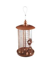 Bird Box 3-In-1 Bird Feeder - Copper