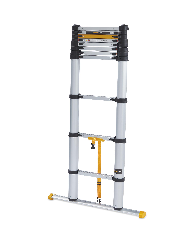 Workzone Aluminium Telescopic Ladder