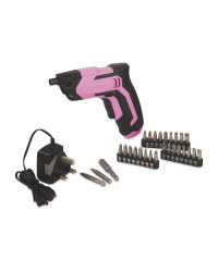 3.6V Li-Ion Cordless Screwdriver - Pink