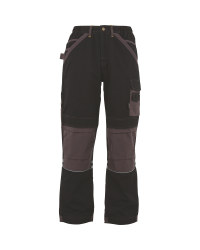 "31"" Holster Work Trousers - Black/Grey"