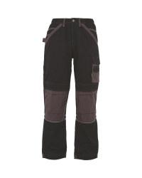 "33"" Holster Work Trousers - Black/Grey"