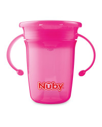 Nuby 360 Sippy Cup - Pink