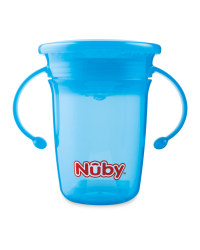 Nuby 360 Sippy Cup - Blue