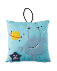 3D Tooth Monster Cushion