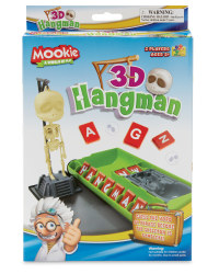 3D Hangman Travel Game