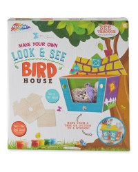 3D Look & See Birdhouse