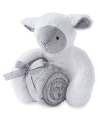 Lily & Dan Sheep Baby Blanket & Toy