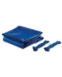 Gardenline 3x2m Tarpaulin 2-Pack - Blue