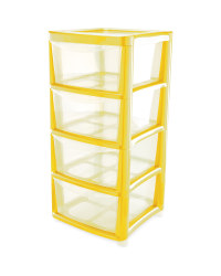 4 Drawer Tower - Ochre
