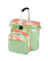 4-Person Floral Picnic Hamper