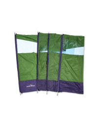 4-Pole Windbreak