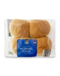 4 Scottish Morning Rolls