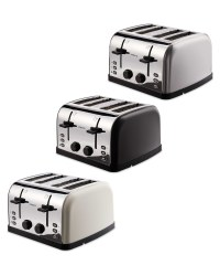 Ambiano Contemporary 4 Slice Toaster