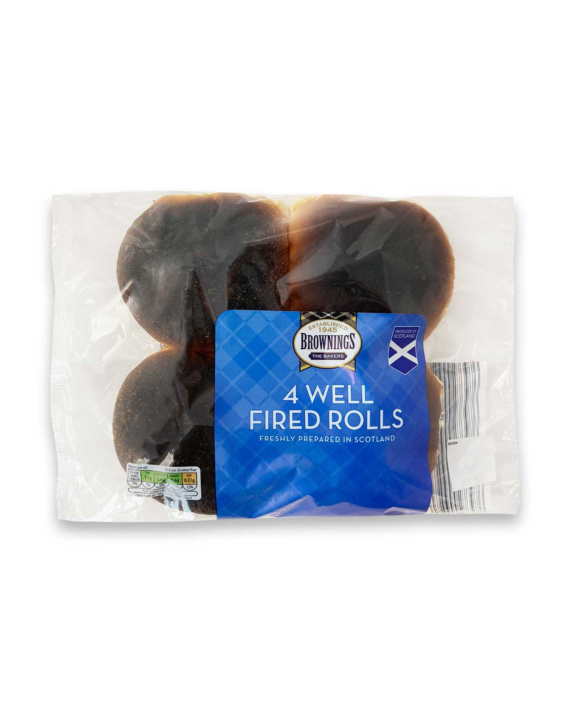 4 Well Fired Rolls