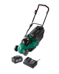40V Lawnmower with Battery & Charger
