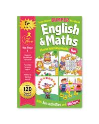5+ English And Maths Bumper Workbook