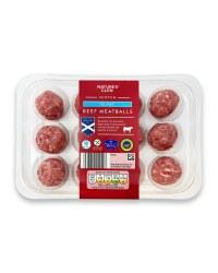 5% Fat Beef Meatballs