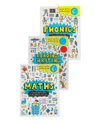 5+ Help With Homework Books 3 Pack