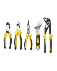 Workzone 5-Piece Pliers Set