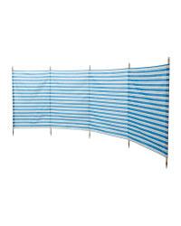 5 Pole Windbreak - Blue/White