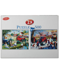 500pc Nostalgic Seasons Puzzle