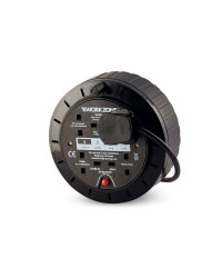 Workzone 5m Cable Reel - Black